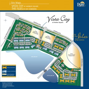 vista cay resort site map